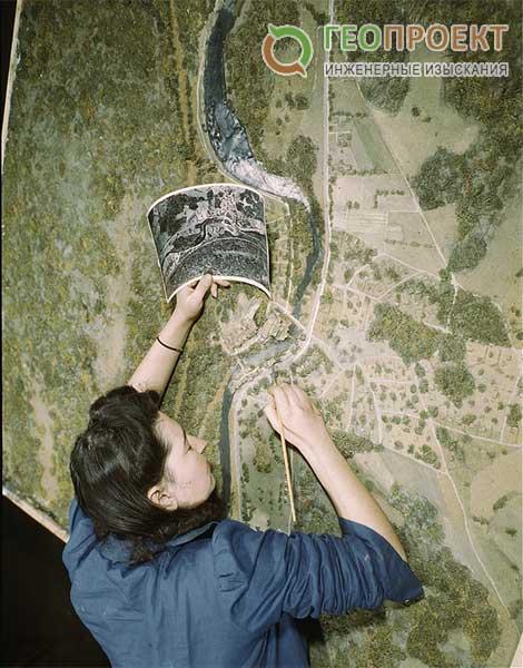 Горная и равнинная местность при геологических изысканиях