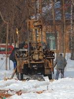 Проведение инженерно-геологических изысканий в зимнее время